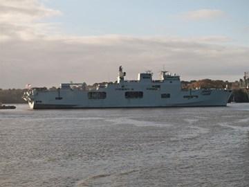HMS Ocean Charity Partner 2011-2013
