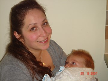 Sebby's 1st birthday with mummy