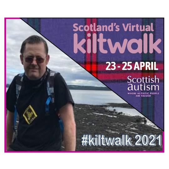 Lee Montgomery - Virtual Kiltwalk 2021 for Scottish Autism