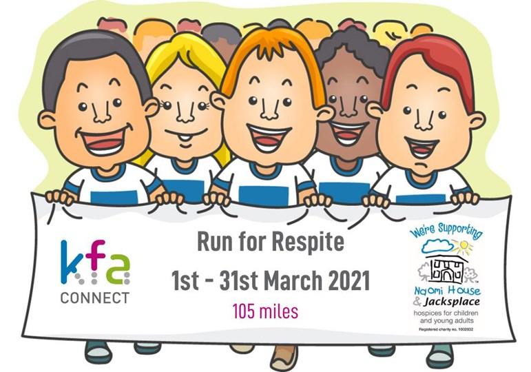 "Nicki's ""Run for Respite"" - March 2021"