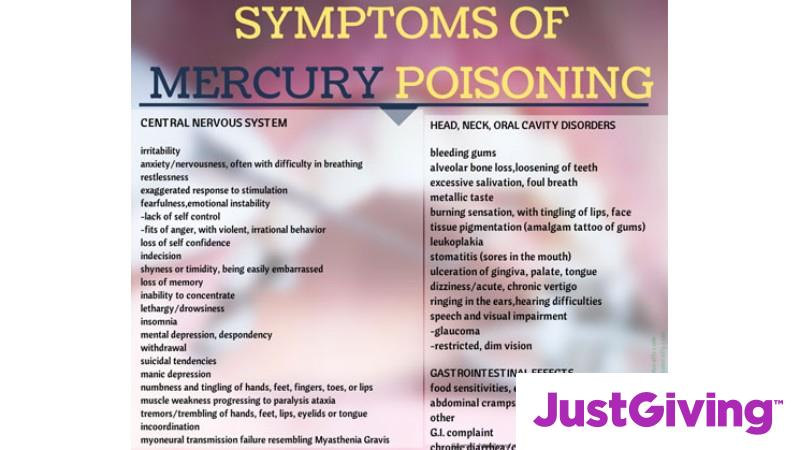 Crowdfunding to help fund Mercury Toxicity and Lyme disease