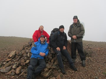 Summit of Red Pike, 10th May 2011