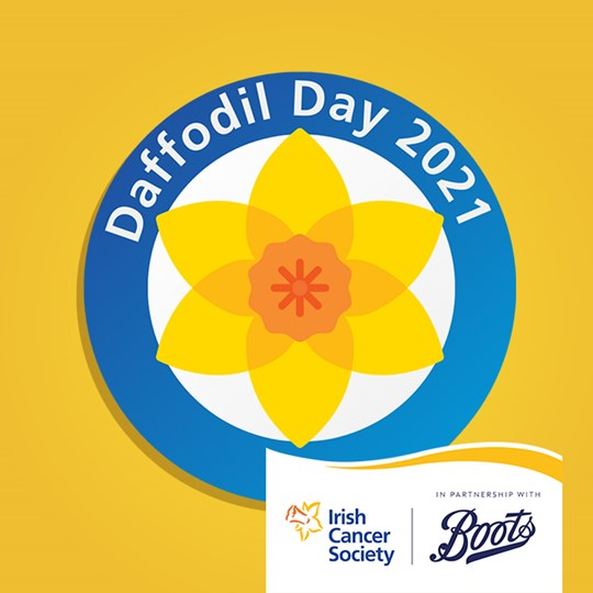 Diarmuid's daffodil day fundraiser