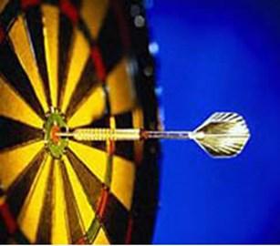 Magic Darts not Masonry Darts