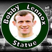 Bobby Lennox Statue In Saltcoats
