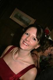 Emma -a beautiful bridesmaid to Rachel