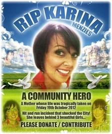 Karina Menzies - A Community Hero