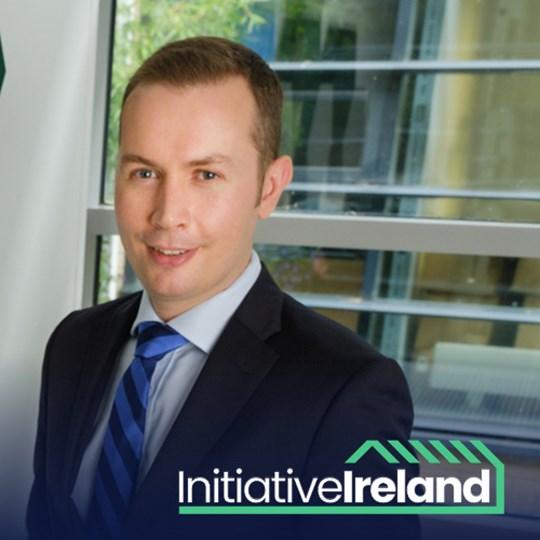 Padraig Rushe  - CEO of Initiative Ireland