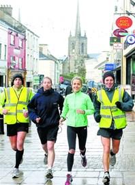 running 6 marathons Dec 2012