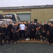 Harts Plumbing & Heating - Three Peaks Challenge