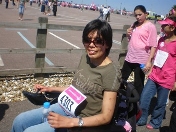Race for life 2009 (on wheelchair)