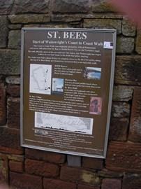 St Bee's Start of 192 mile Walk