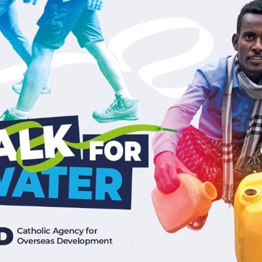 St Cuthbert's RC Parish, Crook Walk For Water Lent Challenge