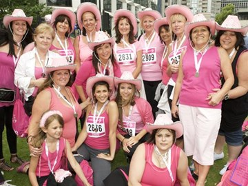 Race for Life Participants