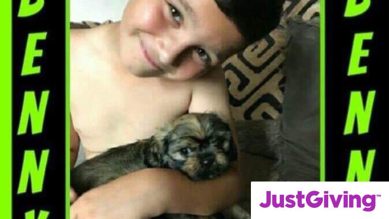 Crowdfunding to Get Malakie a New Best Friend on JustGiving