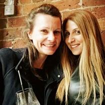 Egle Rostron and Mimi Portaliou