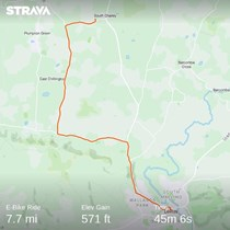 100 miles 1 Bike 1 month 1 Clive 1000