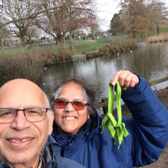 Mel Jack Noronha - Walk for Water Challenge