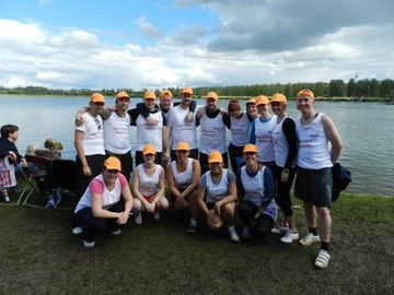 Dragon Boat Team June 2012