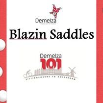 Blazin Saddles .