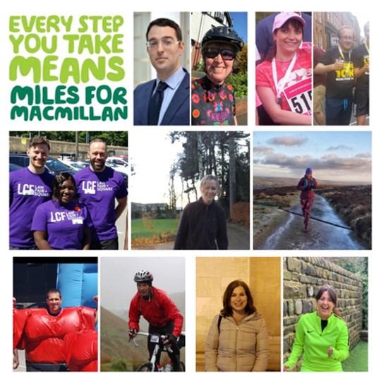 LCF Miles for Macmillan