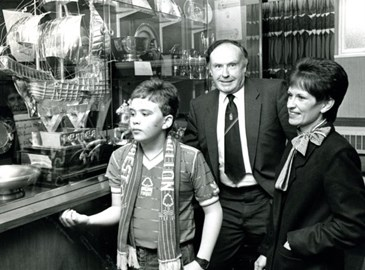City Ground Trophy Room, August 1985