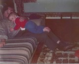 October 1977, Me and Grandpa chilling