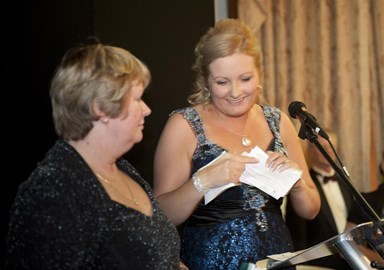 Free2Network Business Awards 2013 - Beverley Bradley from Ty Gobaith & Nina Sardar from Free2Network