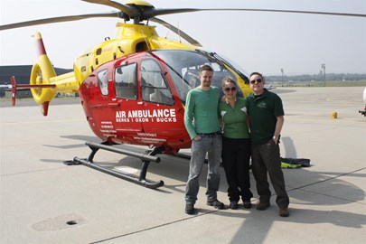The Team and the ambulance