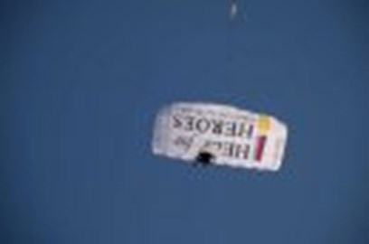 H4H canopy used for the tandem skydives!