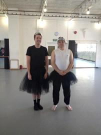 Adult ballet, London