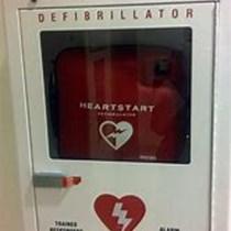 Defibrillator for Carharrack