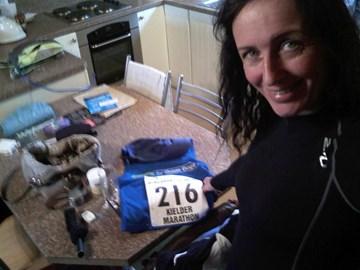 Getting ready to run Kielder
