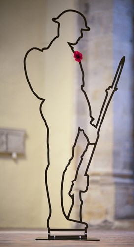 crowdfunding to buy a tommy silhouette for st ives cambs