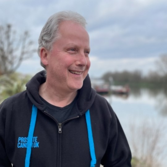 Julian's March challenge - 11,000 daily steps for prostate cancer