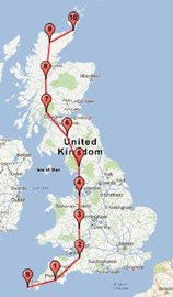 The route....