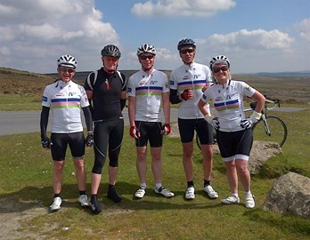 A training ride to the top of Haytor!