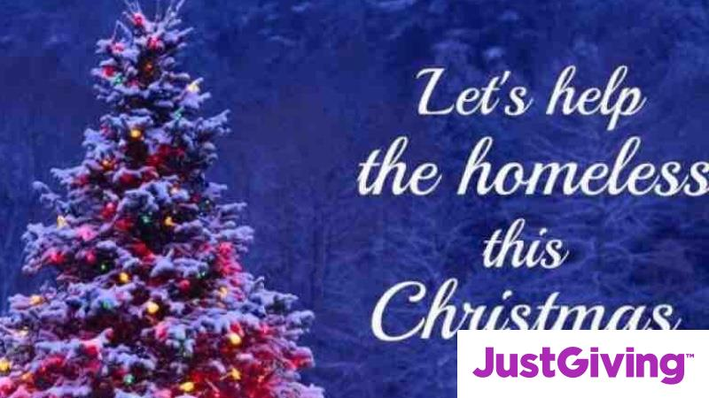 Christmas Helping Homeless.Crowdfunding To Buy Christmas Gifts For The Homeless People