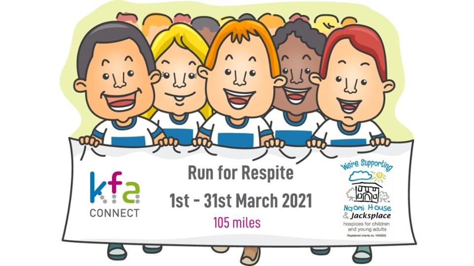 KFA Connect 'Run 4 Respite' March 2021