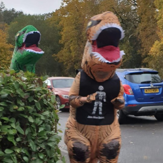Stu's Run the Month-50 miles for Prostate Cancer UK through October