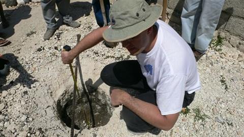 Soil survey in Haiti