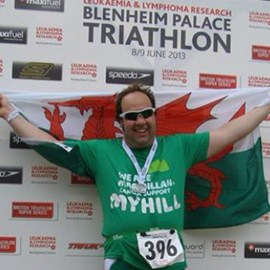 Finished challenge 1, enjoyed my first triathlon experience. Cheers for all of your support so far!