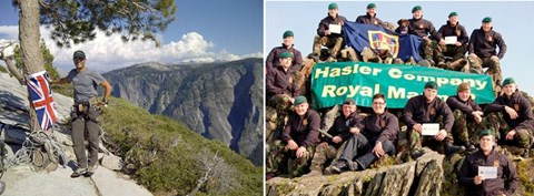 Patron and the Marines reach summits!