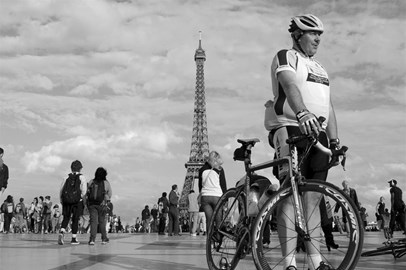 At the Finish in Paris