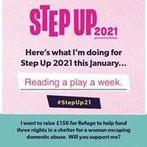 Sarah's Step Up For Refuge