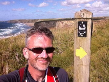 Just N of Newquay on the South West Coast Path