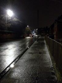 The Dark Streets where my feet run riot