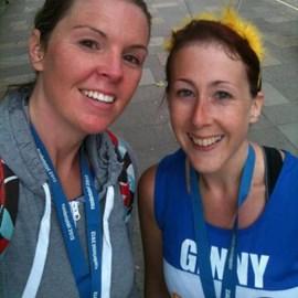 After Bristol Half...still smiling!