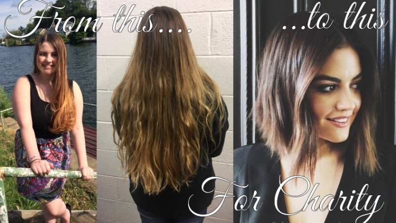 whats a haircut for me crowdfunding to a sponsored haircut i m donating my hair 4776