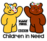 KiddieFonts Supporting Children in Need